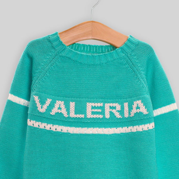 Custom sweater with name
