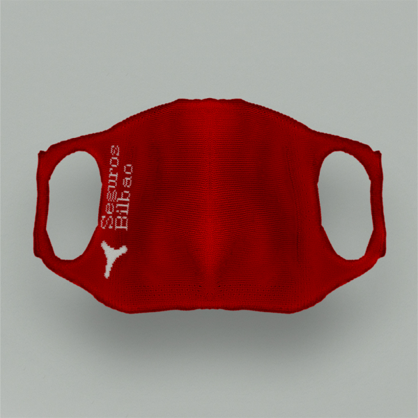 CUSTOMIZED COMPANIES KIT. REUSABLE HYGIENIC MASK WITH 5 REUSABLE FILTERS.