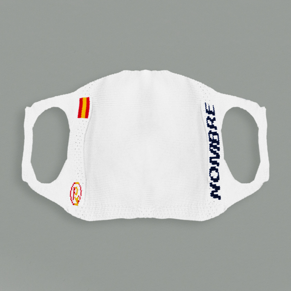 """""""SPAIN"""" CUSTOMIZED ADULT KIT.REUSABLE HYGIENIC MASK WITH 5 REUSABLE FILTERS."""