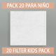 REUSABLE FILTER PACK
