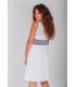 Vestido calados blanco