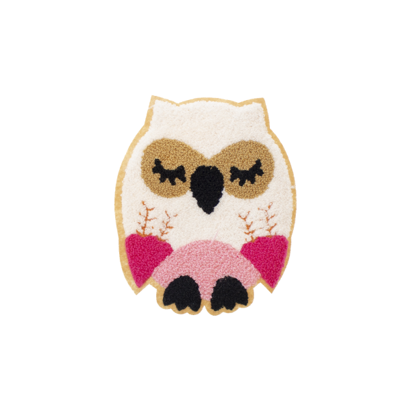 Owl patch for sewing