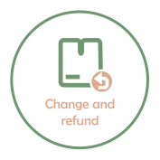 Change and refund accepted
